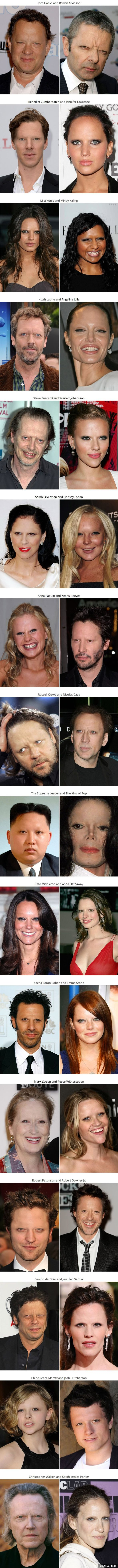 32 Celebrities Without Eyebrows